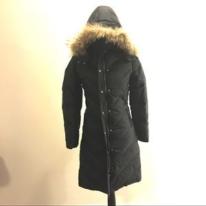 ONLY| Black Parka Winter Long Coat